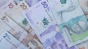 pesos kolumbijskie